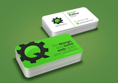 Business Card - Quikate